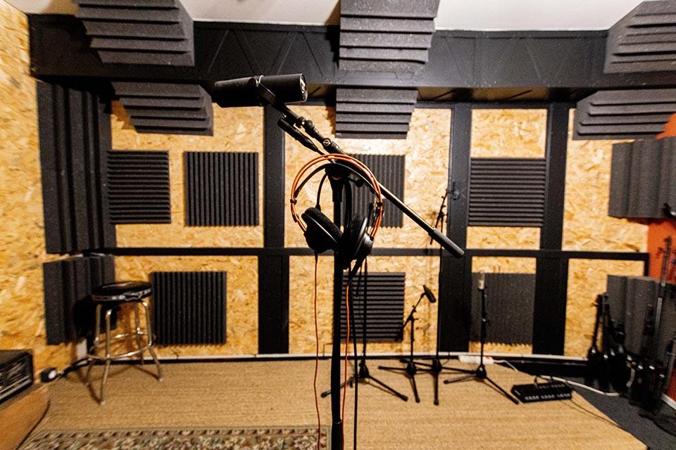 Studio d'enregistrement OHM © Droits réservés - Photographie : Maelwenn LEDUC