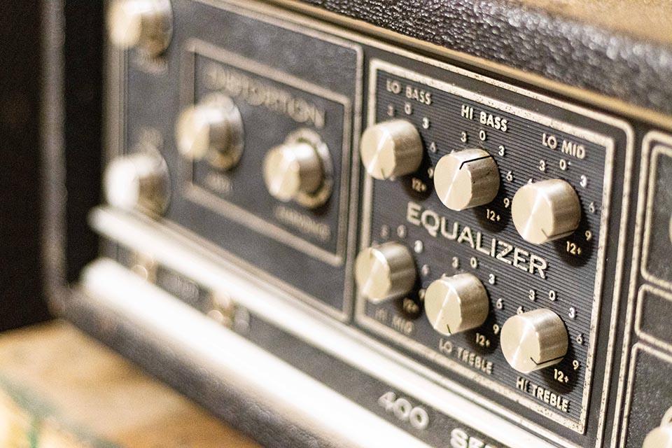 Studio d'enregistrement OHM - AMPLI © Droits réservés - Photographie : Maelwenn LEDUC